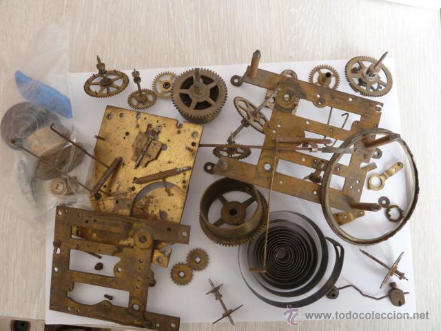 Mecanismo con repuestos para reloj de pared so comprar - Mecanismo reloj pared ...