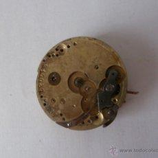 Recambios de relojes: ANTIGUO MECANISMO PARA RELOJ DE BOLSILLO, LONGINES AÑO 1880. Lote 45461292
