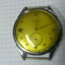 Recambios de relojes: RELOJ DE CUERDA LANCO15 RUBIS SWISS MADE NO FUNCIONA, PARA PIEZAS. Lote 45527682