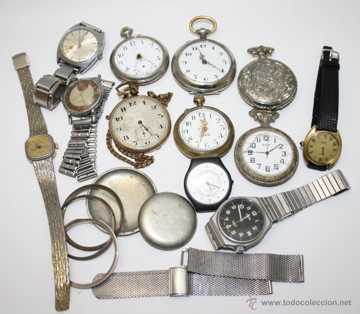 Re251 Lote De Relojes De Diferentes Tipos époc Vendido En Subasta