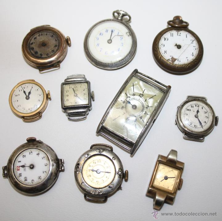 Re254 Lote De 10 Relojes De Mujer Diferentes Comprar Recambios