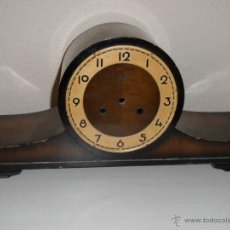 Recambios de relojes: CAJA DE MADERA RELOJ ALEMÁN. Lote 45992569