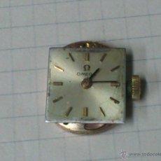 Recambios de relojes: MAQUINARIA ORIGINAL RELOJ DE PULSERA OMEGA 17 JEWELS. Nº 484. FUNCIONANDO. Lote 46345521