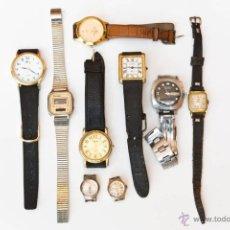Recambios de relojes: LOTE 8 RELOJES DE PULSERA. Lote 46565191