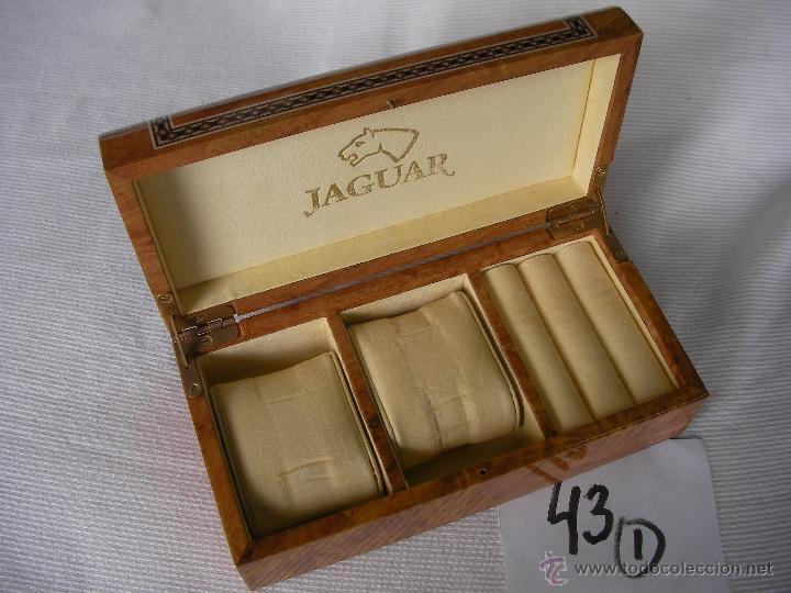 Recambios de relojes: CAJA PARA RELOJERIA O JOYERIA - JAGUAR - Foto 2 - 46712521