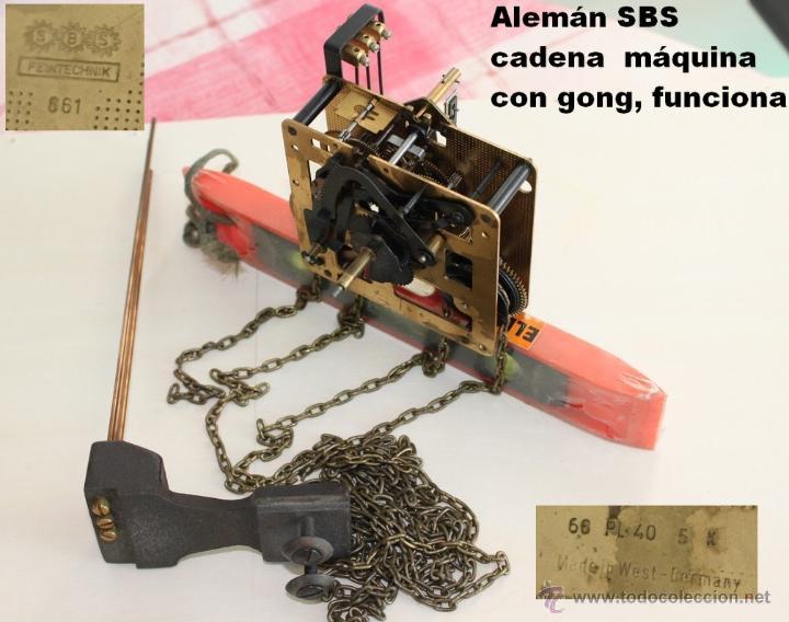 Cadena m quina alem n sbs con gong para reloj comprar - Maquinaria de reloj de pared con pendulo ...