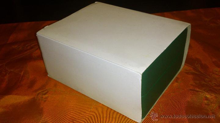 Recambios de relojes: Bonito estuche caja de SWISS MILITARY BY CHRONO.De cuero vede. Original. - Foto 6 - 47175739