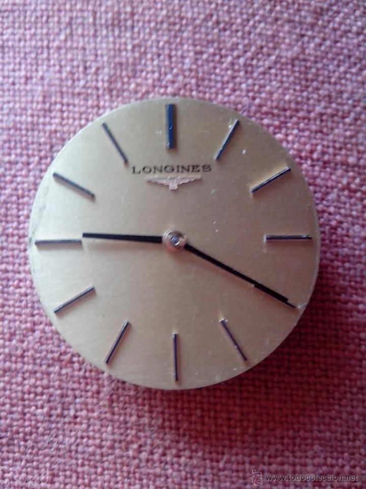 MECANISMO O MÁQUINA PARA RELOJ LONGINES (Relojes - Recambios)