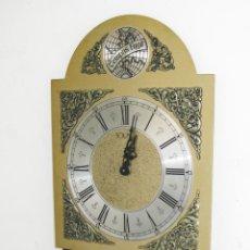 Recambios de relojes: GRAN RELOJ PARED TIPO RATERA TEMPUS FUGIT AÑOS 60. Lote 47629616