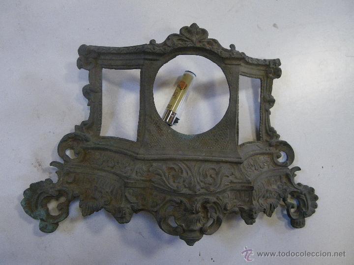 Recambios de relojes: CARCASA O FRENTE DE UN RELOJ EN BRONCE , MUY ANTIGUO ,, VER FOTOS - Foto 4 - 47949658