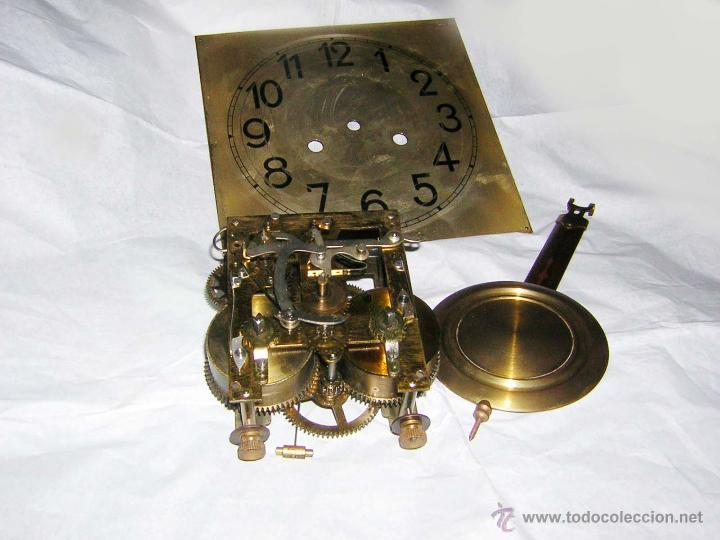Maquinaria con esfera y p ndulo para reloj de comprar - Comprar mecanismo reloj pared ...