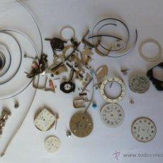 Recambios de relojes: REPUESTOS PARA RELOJES MECANISMO DE CUARZO. Lote 48312468