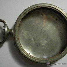 Recambios de relojes: CAJA Y TAPA TRASERA DE RELOJ DE BOLSILLO - NICKEL - AÑOS 1900 - MIRA MAS EN MI TIENDA. Lote 48407162