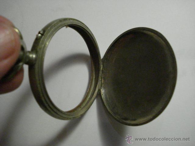 Recambios de relojes: CAJA Y TAPA TRASERA DE RELOJ DE BOLSILLO - NICKEL - AÑOS 1900 - MIRA MAS EN MI TIENDA - Foto 2 - 48407162