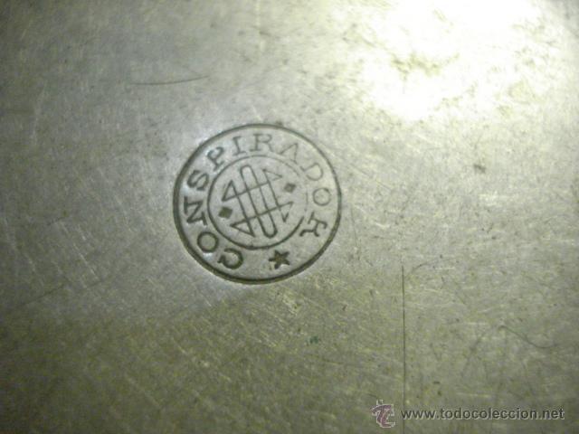 Recambios de relojes: TAPA TRASERA DE RELOJ DE BOLSILLO GRANDE - MARCA CONSPIRADOR - AÑOS 1900 - MIRA MAS EN MI TIENDA - Foto 2 - 48407187