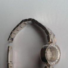 Recambios de relojes: ARMIS Y CAJA DE RELOJ RAYMOND WEIL ROLLED GOLD BEZEL 20 MICRONS. Lote 48434507
