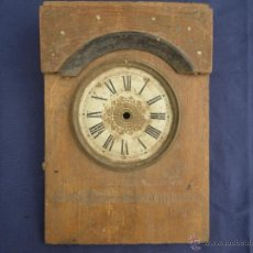 Recambios de relojes: ESFERA DE RELOJ CON ARO DE LATON Y FRENTE DE RELOJ DE PARED ,, VER. Lote 48495336