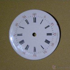 Recambios de relojes: ESFERA RELOJ DE BOLSILLO 32 MM DIAMETRO. Lote 48827551
