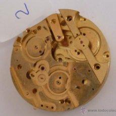 Recambios de relojes: PLATINA NUEVA SIN USO PARA RELOJ DE BOLSILLO HEBDOMAS CON CALENDARIO, DIÁMETRO 42MM. Lote 49007769