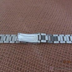 Recambios de relojes: ANTIGUA PULSERA METÁLICA PARA RELOJ, 15 CMS CERRADA. Lote 49066782