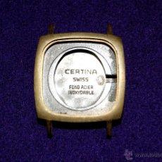 Recambios de relojes: CAJA DE RELOJ CERTINA. ACERO INOXIDABLE. MEDIDAS EXT: 2,4 CM. INT: 2 CM. SIN USAR. SWISS MADE.. Lote 49157816