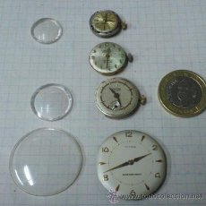 Ricambi di orologi: LOTE: MAQUINARIA - DESPIECE - TITAN 17 JEWELS, COLMONS, VALORU Y DUWARD. Lote 49519336