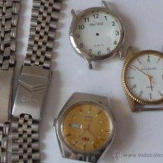 Recambios de relojes: RELOJES PARA REPUESTOS, DE CUARZO.. Lote 49664935