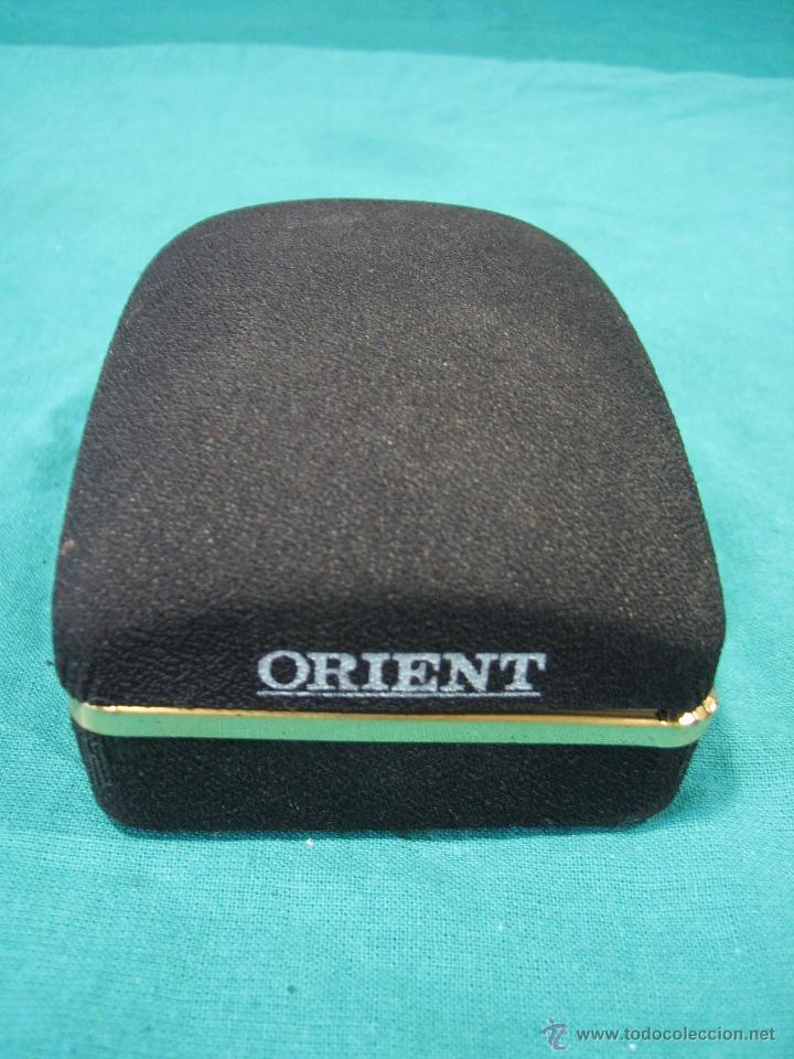 Recambios de relojes: Caja para reloj Orient. M 10x7x4,5 cm - Foto 2 - 50002974