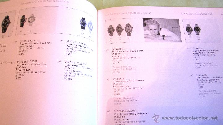 Recambios de relojes: OMEGA: LISTA DE PRECIOS 2009. - Foto 2 - 51100106