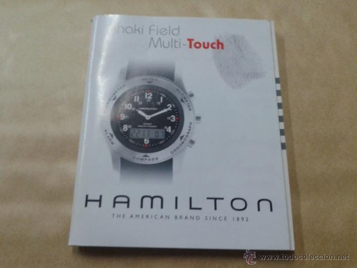 Multi Khaki Reloj Touch Field De Uso Hamilton Manual 5L4ARj