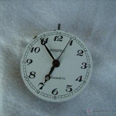 Recambios de relojes: **MAQUINARIA DE RELOJ PARA PIEZAS O COLECCION,---SONITEC ANTIMAGNETID-- (3 CM)**. Lote 51343476