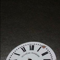 Recambios de relojes: ESFERA RELOJ SYSTEME ROSKOFF PARA RESTAURAR DE 4.64 CM. Lote 53116420