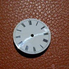Recambios de relojes: ESFERA RELOJ DE BOLSILLO 27MM DIAMETRO. Lote 53135773