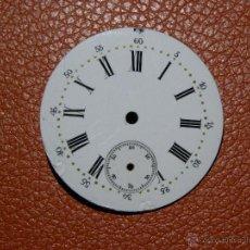 Recambios de relojes: ESFERA RELOJ DE BOLSILLO 40,3 MM MM DIAMETRO. Lote 53135807