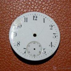 Recambios de relojes: ESFERA RELOJ DE BOLSILLO 40,4 MM MM DIAMETRO. Lote 53135838