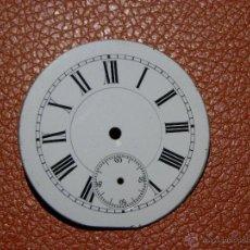 Recambios de relojes: ESFERA RELOJ DE BOLSILLO 42 MM DIAMETRO. Lote 53135873