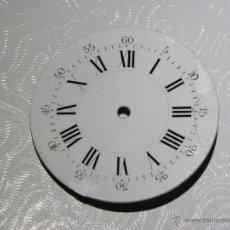 Recambios de relojes: ESFERA RELOJ DE BOLSILLO 40,7MM DIAMETRO. Lote 53181017