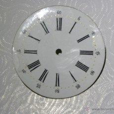 Recambios de relojes: ESFERA RELOJ DE BOLSILLO 41,2MM DIAMETRO. Lote 53181071