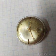 Recambios de relojes: MAQUINARIA RELOJ ELVIA A CUERDA FUNCIONANDO ,,ALFONSOJO. Lote 53633614