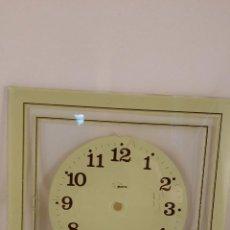 Recambios de relojes: ESFERA DE RELOJ DE CRISTAL. TAMAÑO 25X25 CM. Lote 53849674