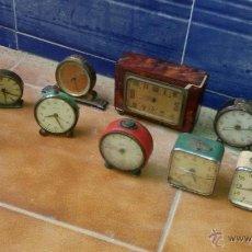 Recambios de relojes: RELOJES DESPERTADOR ANTIGUOS. Lote 53999192