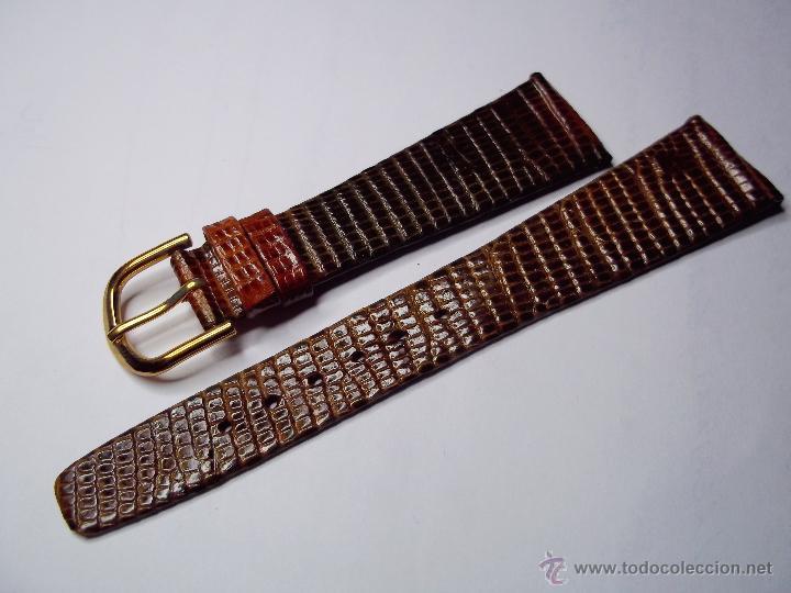 2ddb71e1a5fc Vintage. correa para reloj de caballero. piel d - Vendido en Venta ...