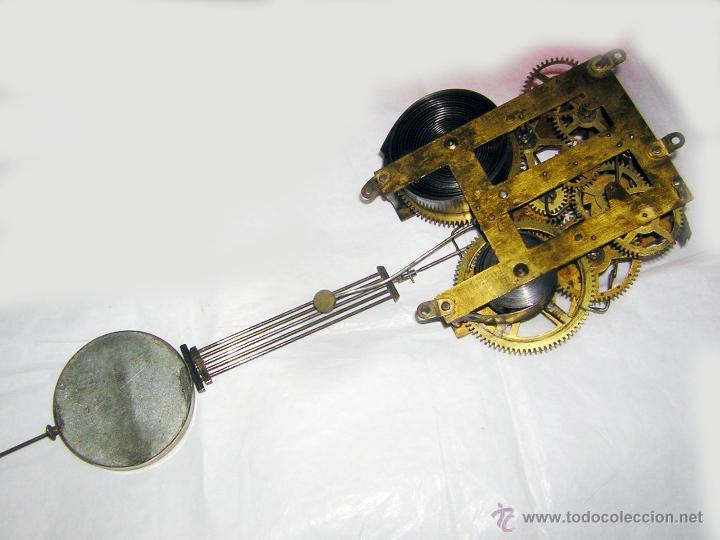 Maquinaria antigua para reloj de pared con p nd comprar - Maquinaria de reloj de pared con pendulo ...