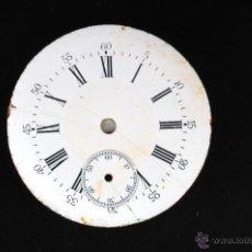Recambios de relojes: ESFERA RELOJ DE BOLSILLO EN PORCELANA. Lote 54926295