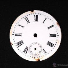 Recambios de relojes: ESFERA RELOJ DE BOLSILLO EN PORCELANA. Lote 54926454
