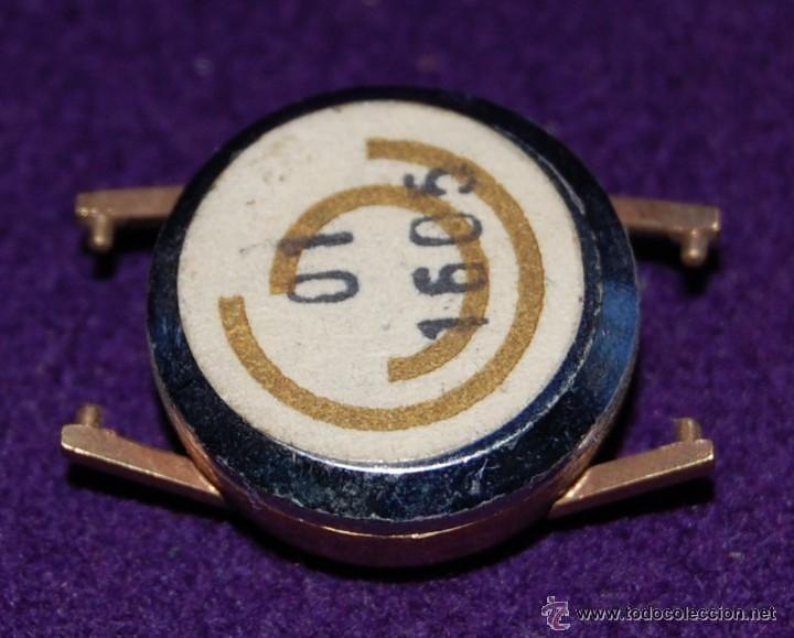 Recambios de relojes: CAJA RELOJ CERTINA. ACERO INOXIDABLE. CHAPADO EN ORO.SIN USAR. DIAMETRO INT: 1,4cm. EXT: 1,6cm. - Foto 3 - 55085708