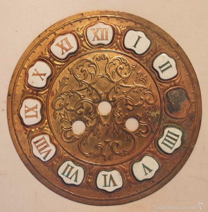 Esfera Para Reloj Tipo Japy Con Numeros Romanos Comprar Recambios