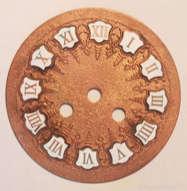 Esfera Para Reloj Tipo Japy En Bronce Con Numer Comprar Recambios