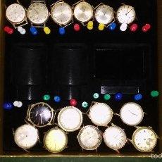 Recambios de relojes: 15 RELOJES ANTIGUOS PARA REPARAR O PIEZAS.SON DIFICILES DE ENCONTRAR.. Lote 56397991