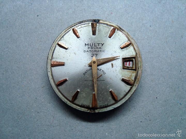 MAQUINARIA RELOJ MULTY - PARA PIEZAS (Relojes - Recambios)